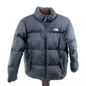 The NORTH FACE 600 Black Winter Goose Down Jacket